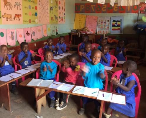 Children at Sarahs school