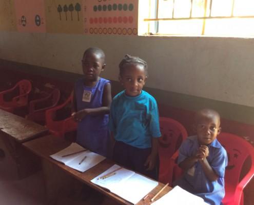 Children in lessons