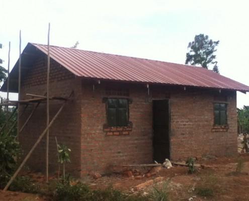 Widows new house in Uganda