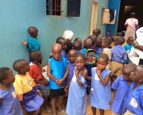 Childrens school in Kampala