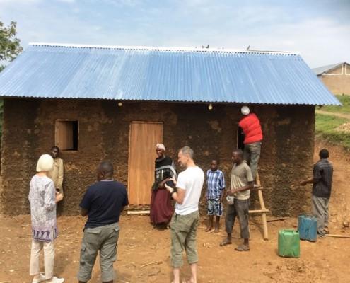 The widows new house in Nabumali
