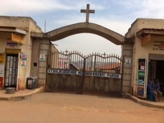 Balikuddembe church compound