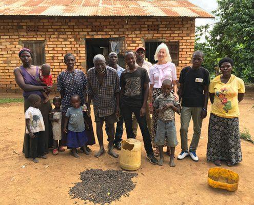 Street boy Samuel's extended family