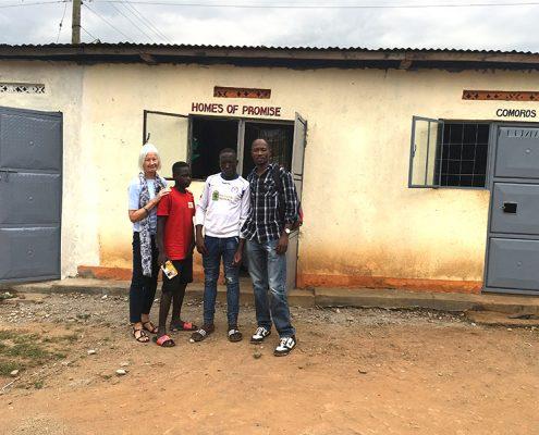 Visiting Timothy and Ausustine
