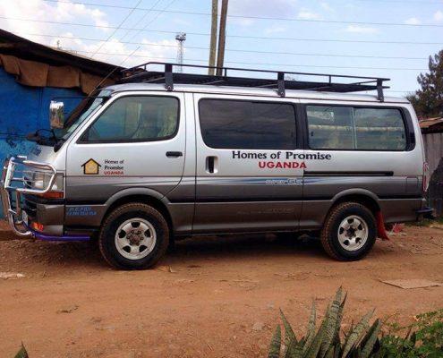 Our new minibus