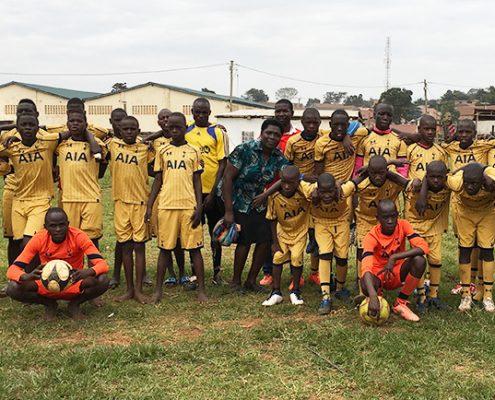 Moses football team