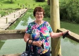 Sue at Jahazi Pier