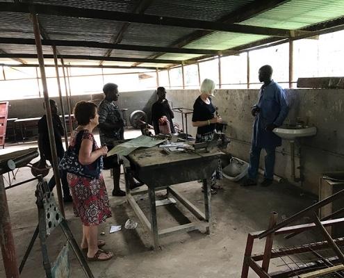 The Don Bosco workshop