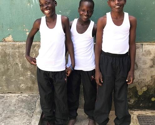 Three new street children