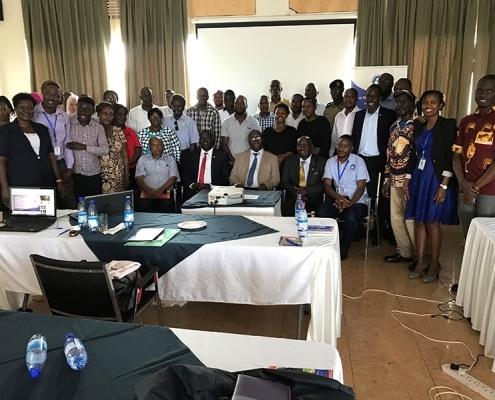 Save Street Children Uganda meeting