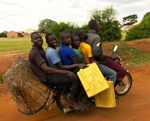 Boda boda in Uganda