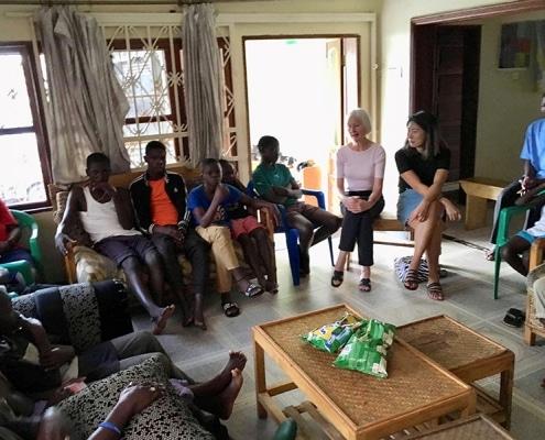 Jane is back in Uganda