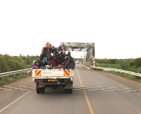 Christmas travel in Uganda