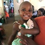 Donated toys for Ugandan children