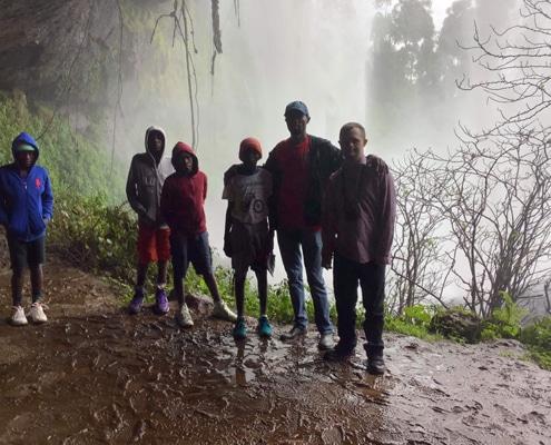 Visiting Sipi Falls