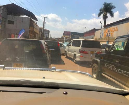Traffic in Kampala