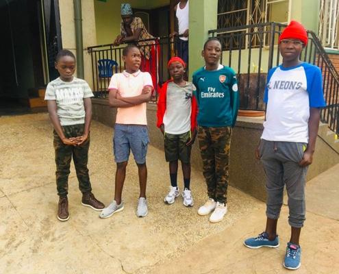 Our former street children