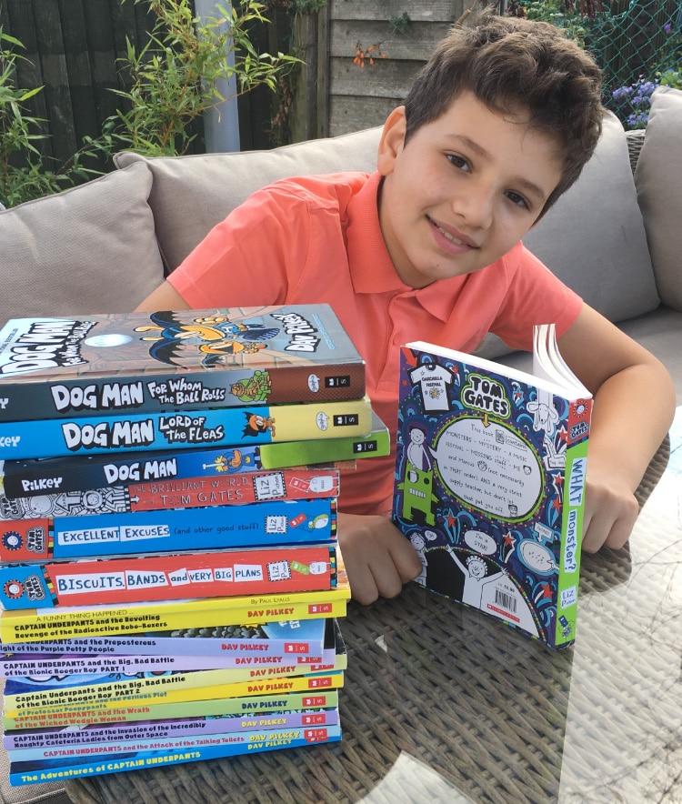 Harry's book challenge GoFundMe