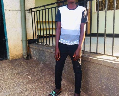 One of our street children, Kasita