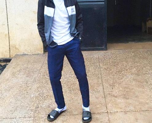 Tim, a former Ugandan street child