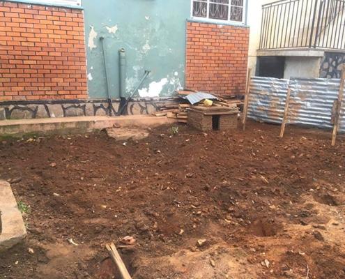 Our new vegetable garden