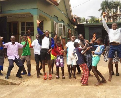 Street children of Uganda