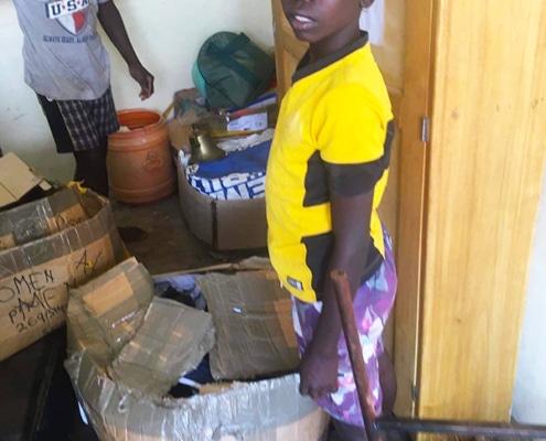 Joshua, a former street child