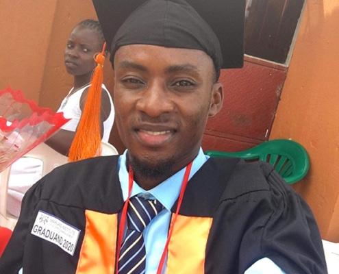 Shadrach graduating