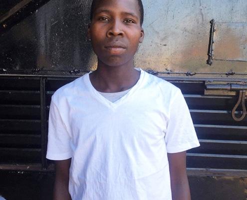 Kodet, a former street boy in Uganda