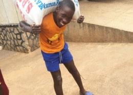 Kasita unloading more supplies