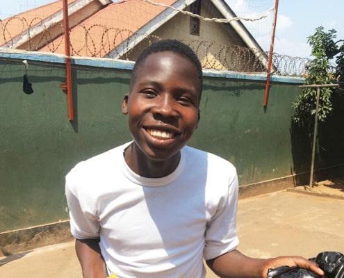 Kodet, a former street boy