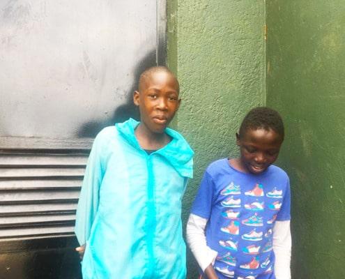 Two more former street children