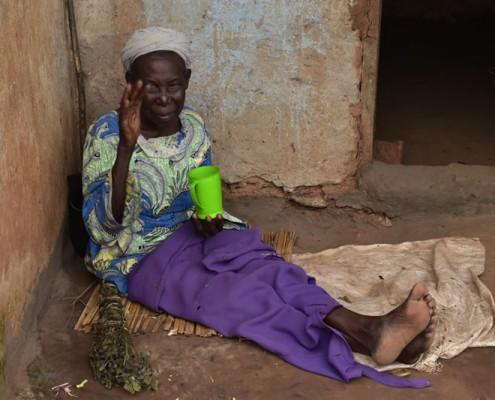 Old Uagandan lady