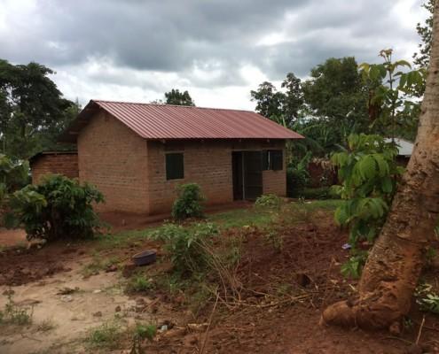 Sylvias new house