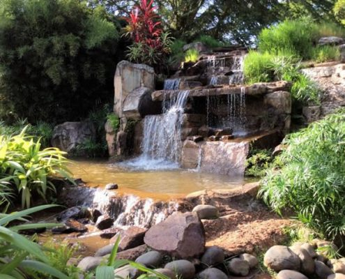 Speke resort grounds
