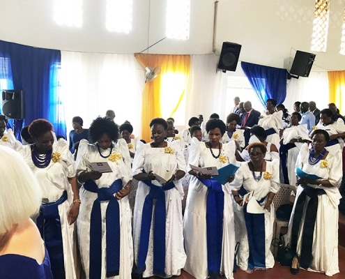 Mothers Union choir in Uganda