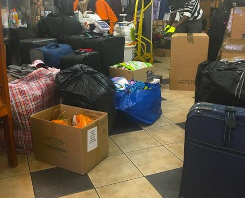 Donations being sent to Uganda