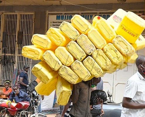 Lockdown in Kampala, Uganda