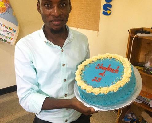 A birthday for Shadrach