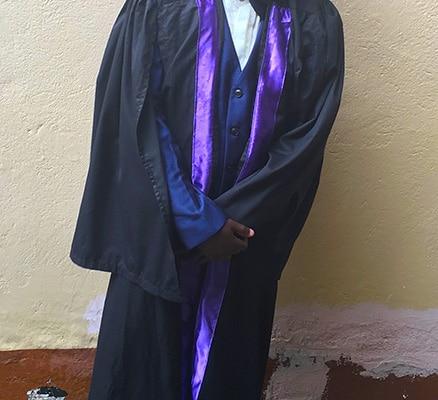 Tim graduating