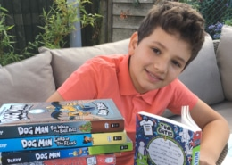 Featured book challenge for charity