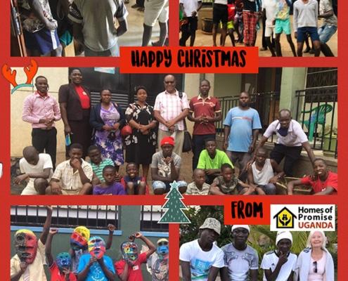 Happy Christmas from Uganda