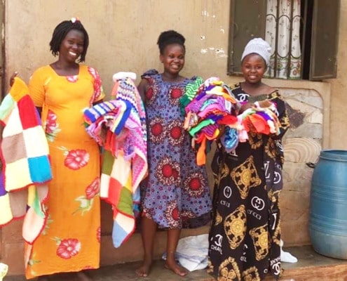 Donations received in Uganda