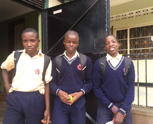 More of our boys going to school