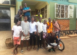 Some of our former street boys