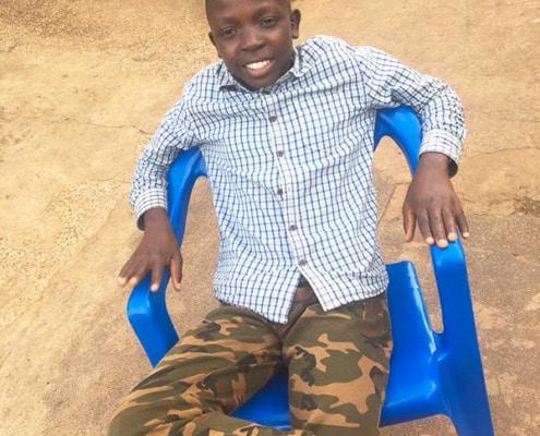 Saviour, one of our former street boys